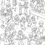 Friend September 2015 - Family Reunion coloring page