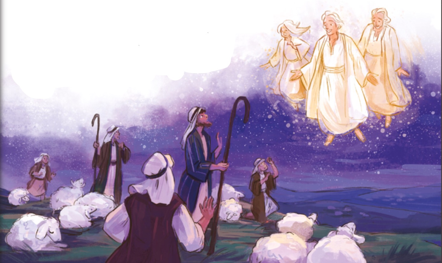 Clip Art Story Jesus Birth: Cli...