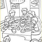 Friend November 2015 - Coloring page