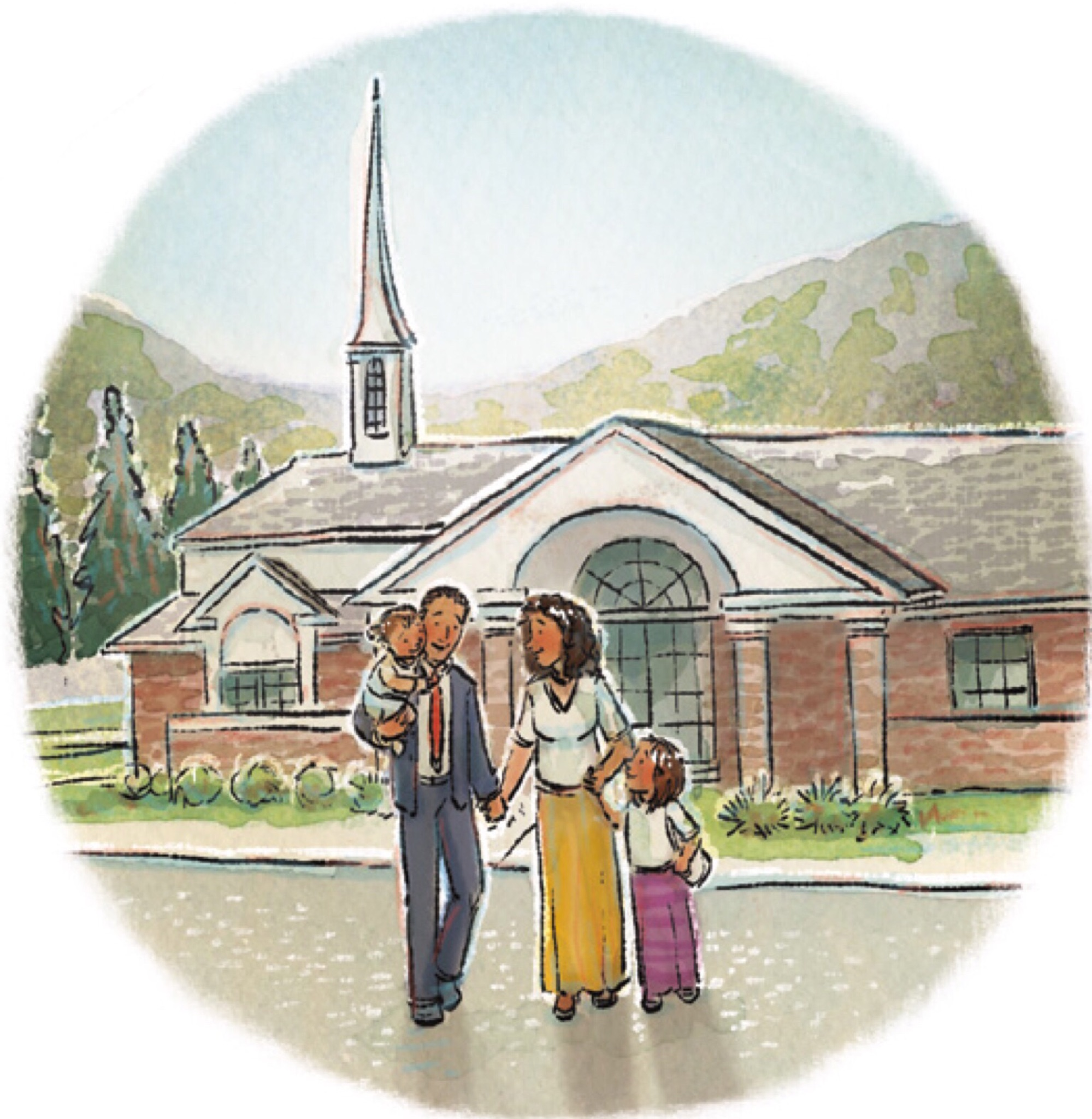 church clipart teaching lds children rh teachldschildren com LDS Clip Art Obedience Brings Blessings and Happiness lds clipart obey