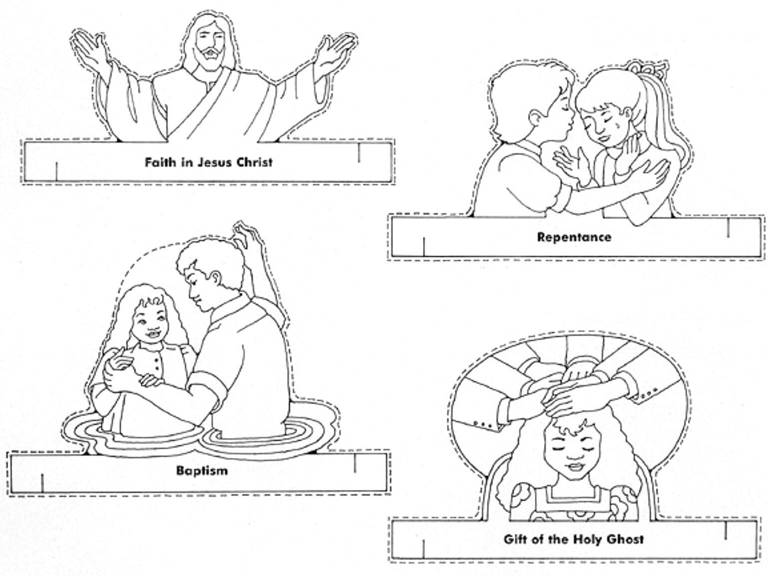 article of faith coloring pages - photo#19