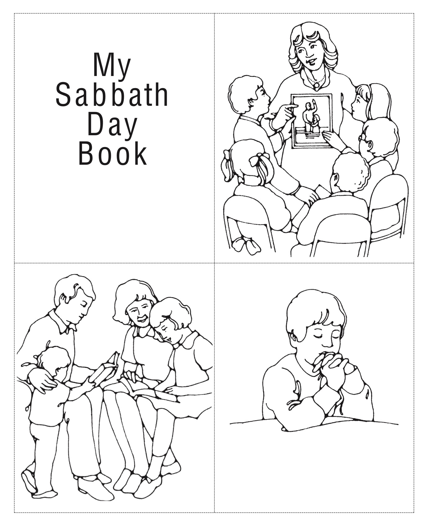 Joseph Smith Primary Lds Coloring Pages Printable Joseph
