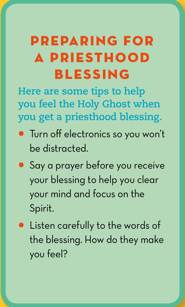 Say A Prayer Before You Receive Your Blessing To Help Clear Mind And Focus On The Spirit Listen Carefully Words Of