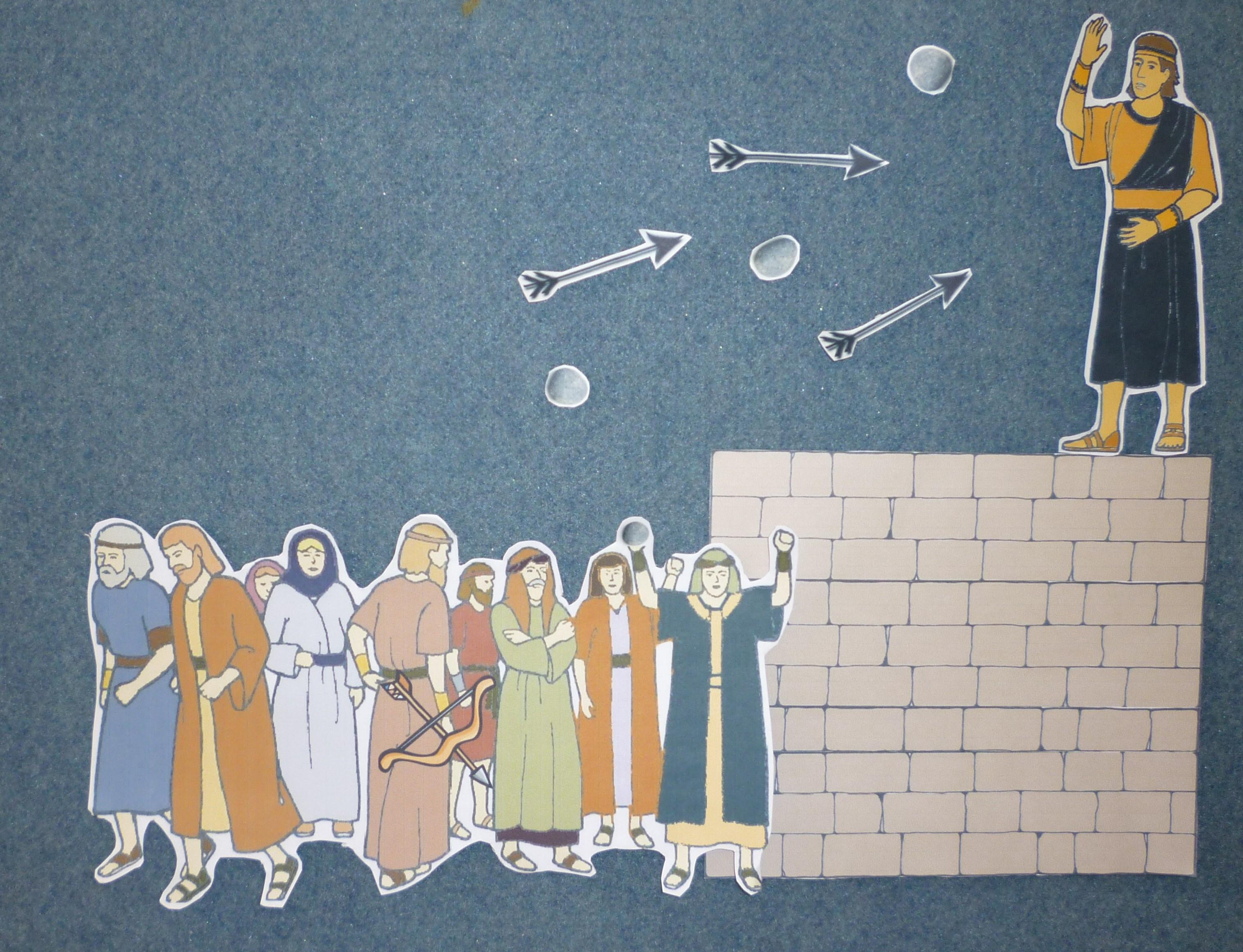 Samuel el Lamanita tiene fe en Jesucristo